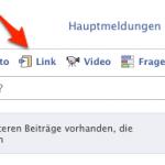 Facebook: Wie teile ich einen Link