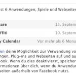 iOS 6:Problem beim einrichten des Facebook Account
