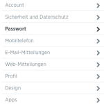 Twitter: Passwort ändern