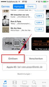 Apple_Guthabenkarte_einloesen