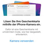 iOS: Guthabenkarte mit dem iPhone aktivieren
