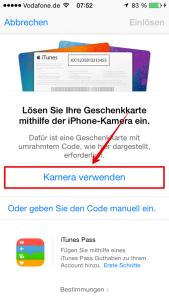 Apple_Guthabenkarte_einloesen_Kamera_Auswahl