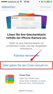 Apple_Guthabenkarte_einloesen_manuell_Auswahl