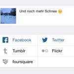 Instagram: Verbindung zu Facebook und Twitter einrichten