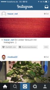 Instagram Bilder der Freunde im eigenen Feed