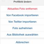 Instagram: Profilbild und weitere Informationen ändern