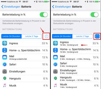 Detailliertere Informationen über die Laufzeit einer App anzeigen lassen
